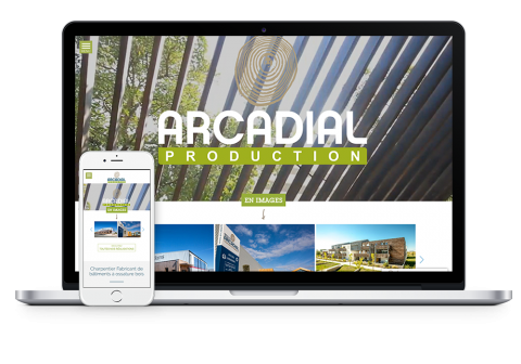 site internet Arcadial Production