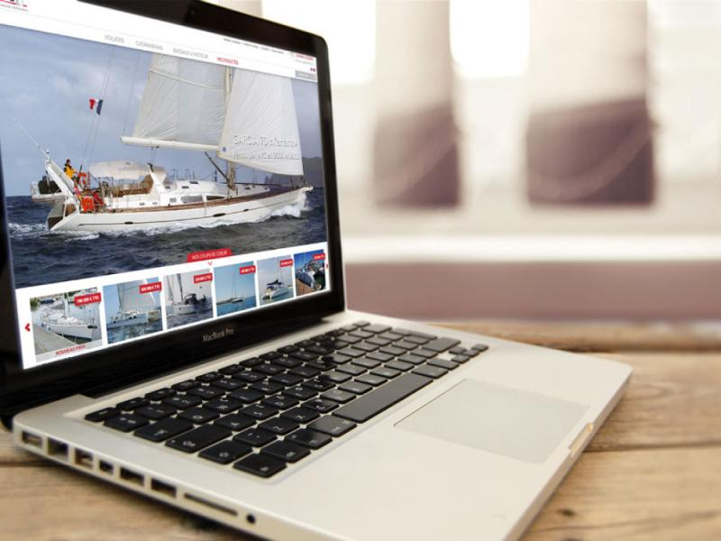 site internet AYC Yachtbrokers